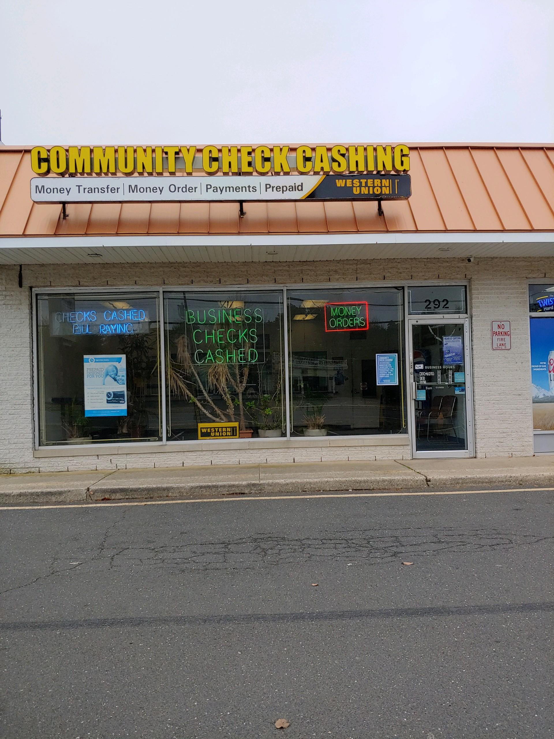 Community Check Cashing Jersey Shore S Most Trusted Check Casher 4 Locations