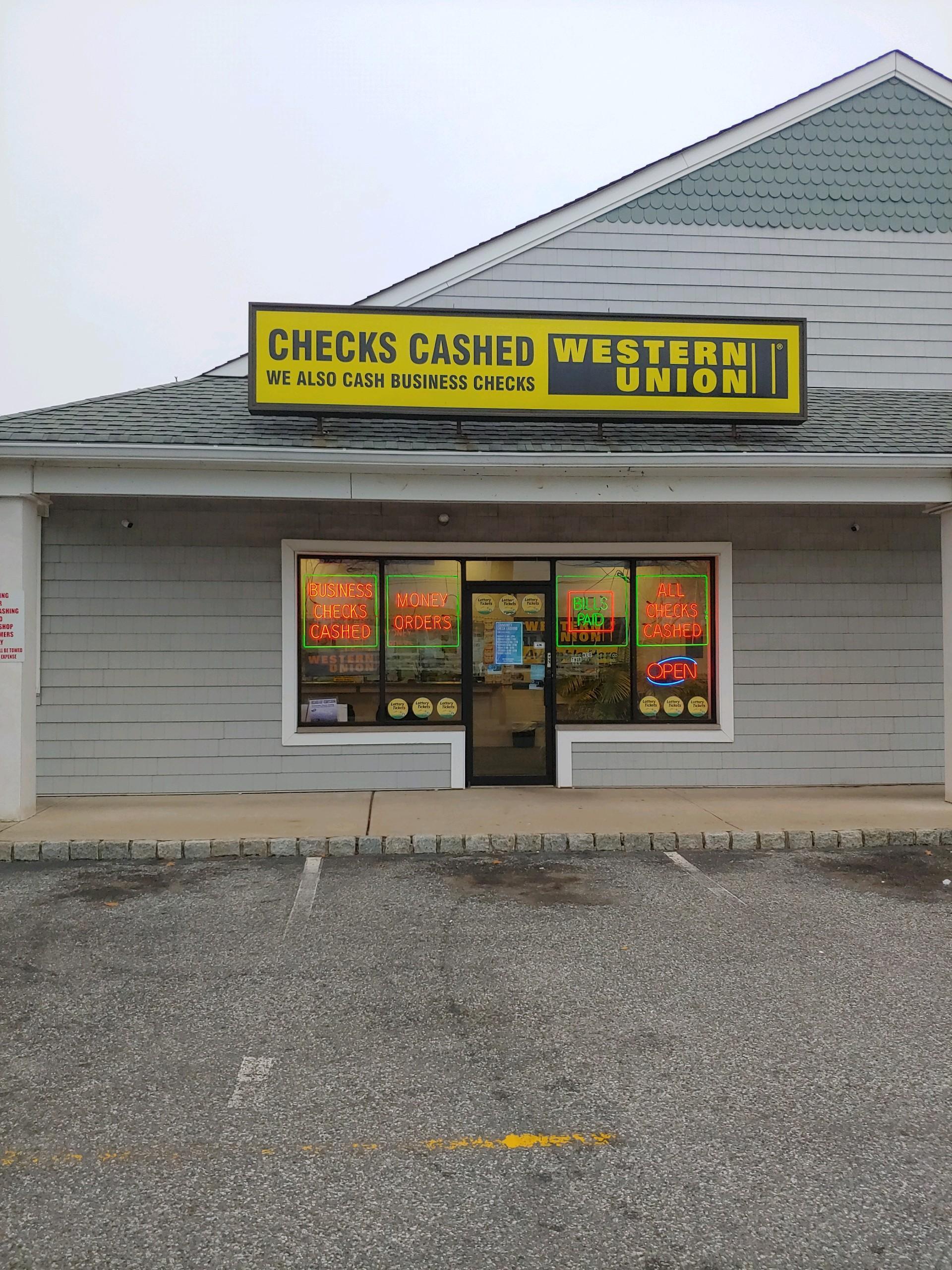 Community Check Cashing in Toms River, NJ